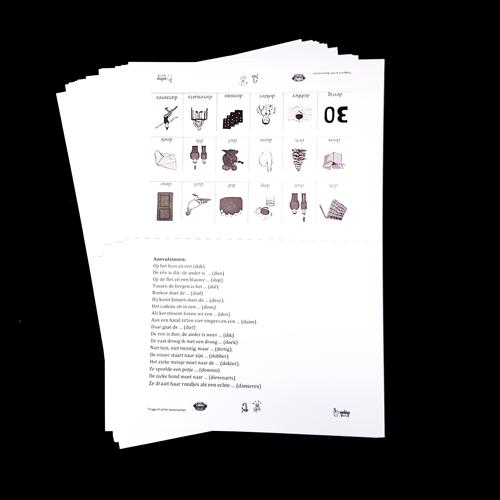 kopieerkaart Tias box umcg logopedie